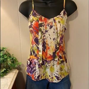 Abstract Tropical Tank by Jessica Simpson sz small